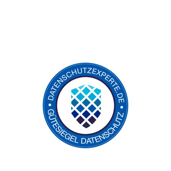Gütesiegel Datenschutz von datenschutzexperte.de