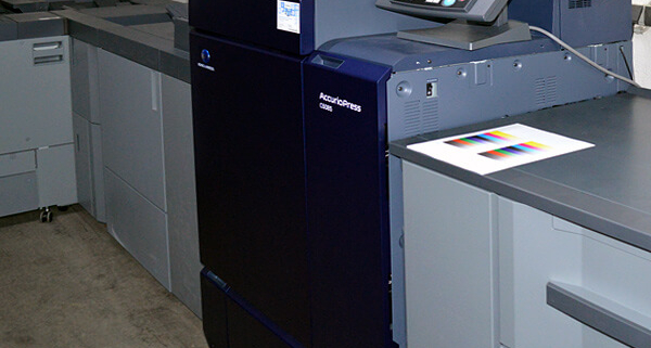 Druck: Inkjet Digitaldruck
