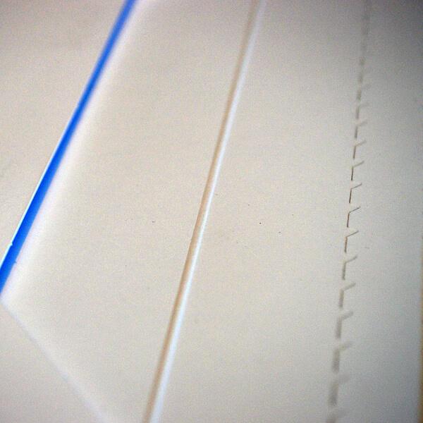 Muster Rillen, Falzen, Perforation
