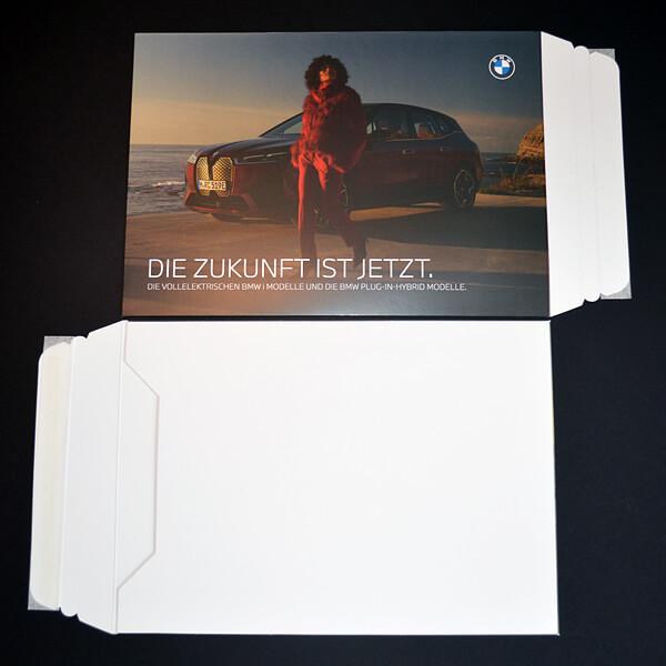 Kleben: BMW Mailing