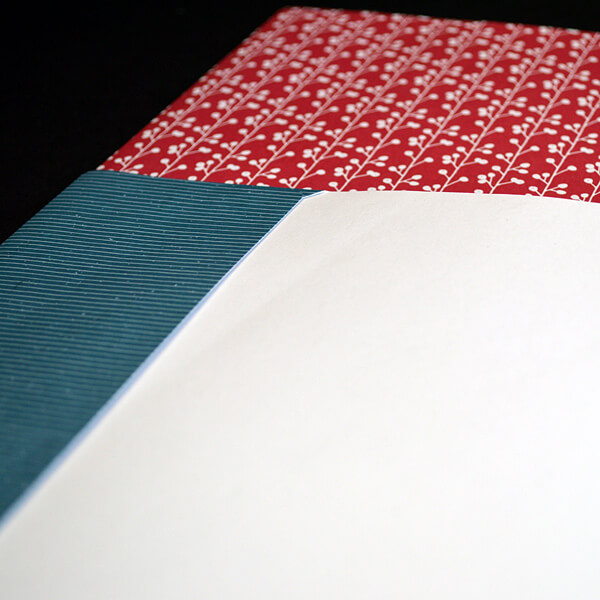 Kleben: Beklebter Umschlag