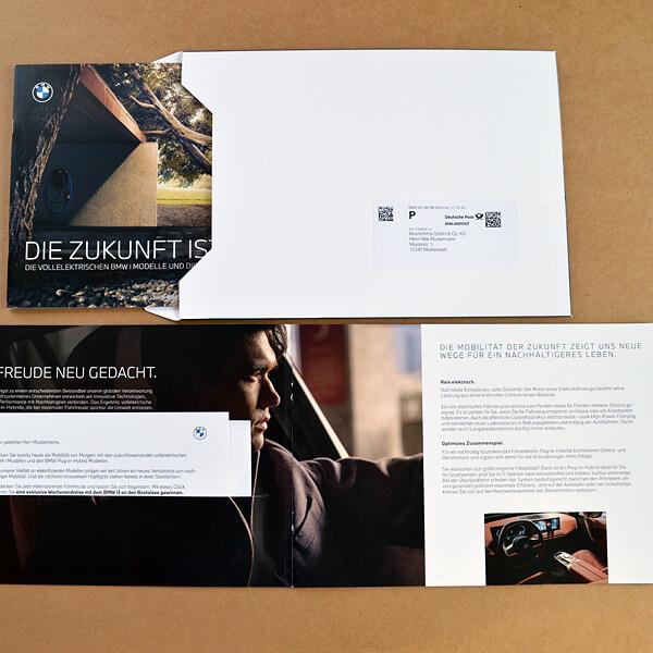 Kuvertierung: Briefmailing