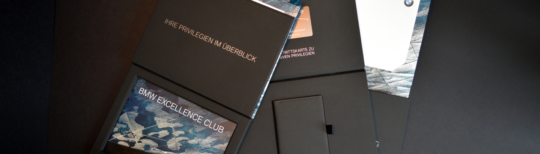 Hochwertiges Kunden-Mailing BMW Excellence Club