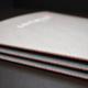 Steppstichheftung: rotorange, Umschlag grau