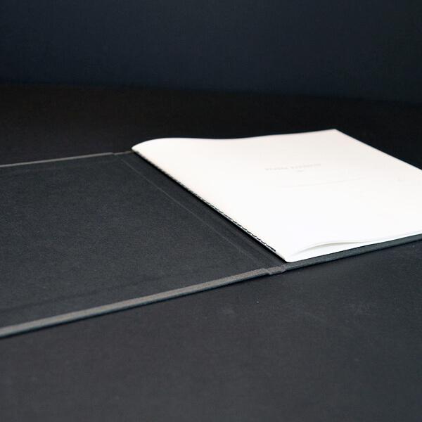 Steppstichheftung: Innenseiten, Umschlag Hardcover