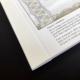 Umschlag Rillen und Falzen, Inhalt Perforation