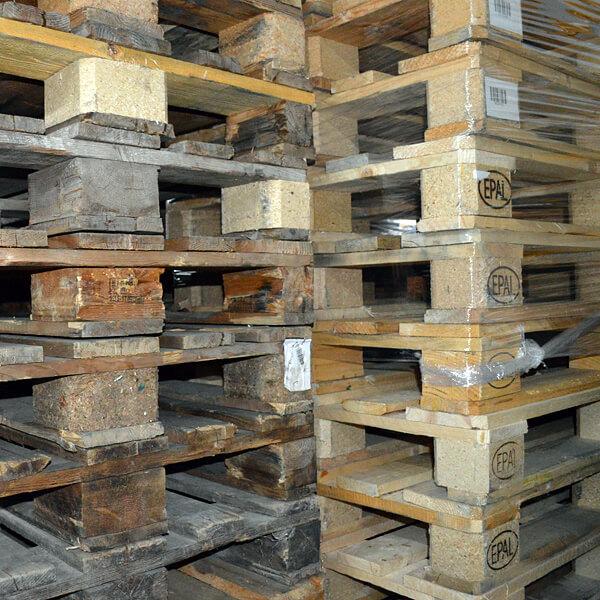 Lagerhaltung und Lagerverwaltung: Paletten